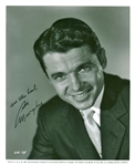 "Audie Murphy Signed 8"" x 10"" Black & White Promotional Photograph (JSA)"