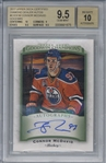 Connor McDavid Signed 2017 Upper Deck Certified Diamond Dealer #CDDCM BGS 9.5 w/ 10 Auto!