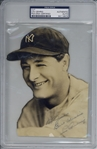 "Lou Gehrig Boldly Signed New York Yankees 5"" x 7.5"" Photograph (PSA/DNA Encapsulated)"