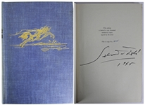 Salvador Dali Signed Limited Edition Hardcover Book (Beckett/BAS Graded MINT 9)