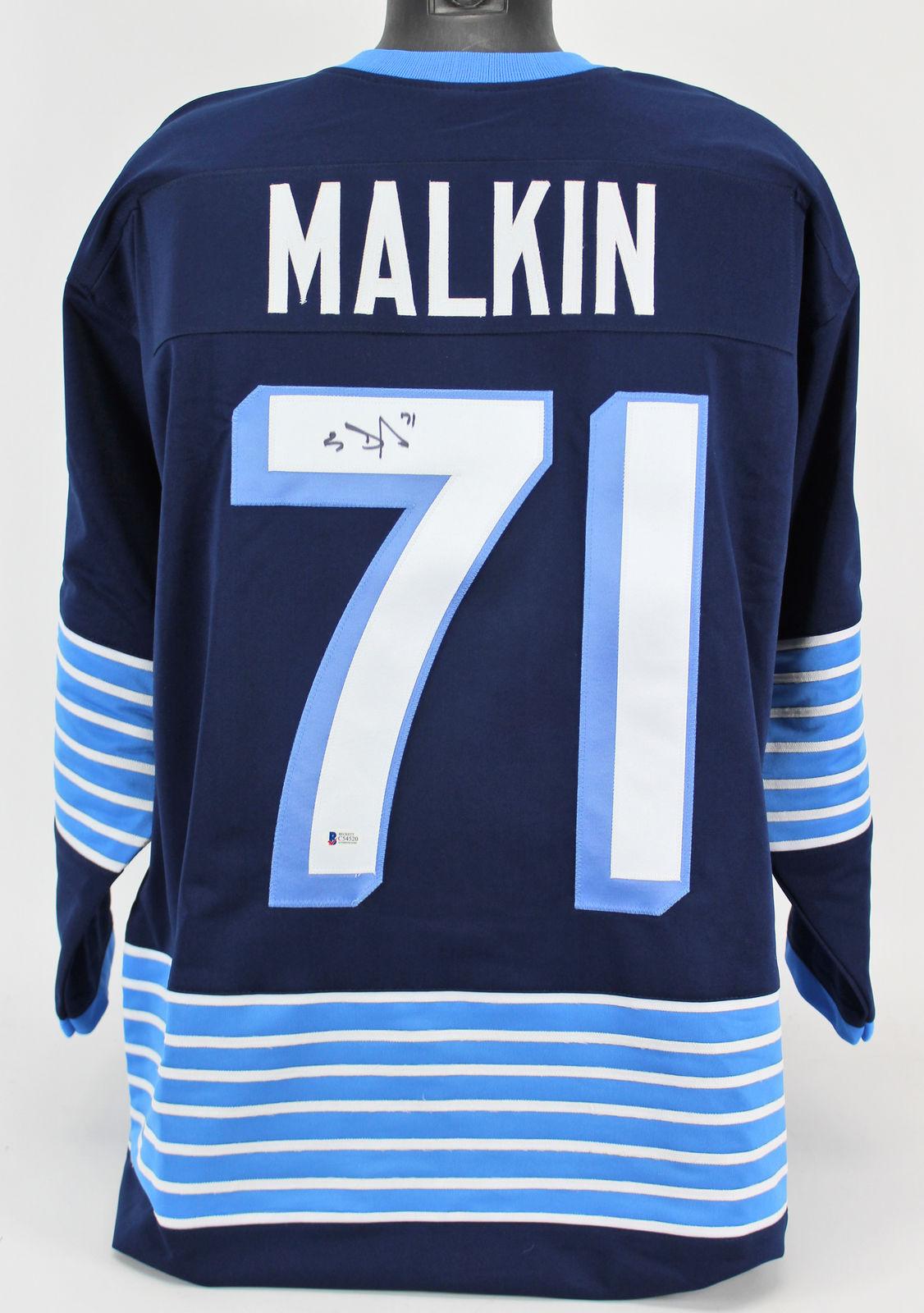 outlet store 20531 86308 Lot Detail - Evgeni Malkin Signed Pittsburgh Penguins ...