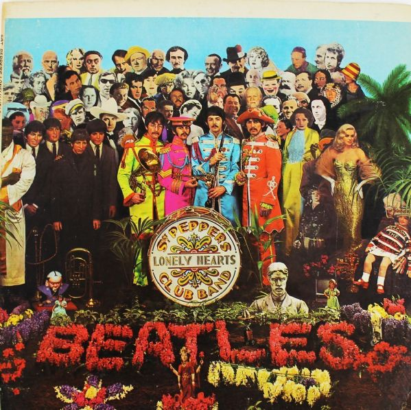 The Beatles: Paul McCartney Rare Signed Album Gatefold for Sgt. Peppers Lonely Hearts Club Band (PSA/DNA)