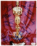 "Multi-Signed 8"" x 10"" Color Photo by Ten (10) Former Academy Award Winners! (JSA)"