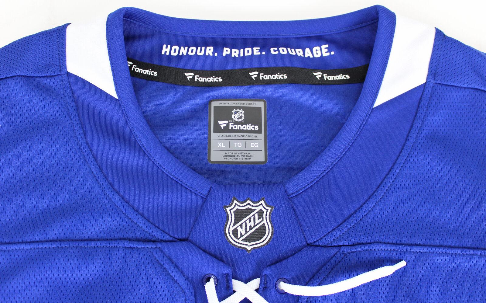 half off 642f3 61494 Lot Detail - Auston Matthews Signed Toronto Maple Leafs Blue ...