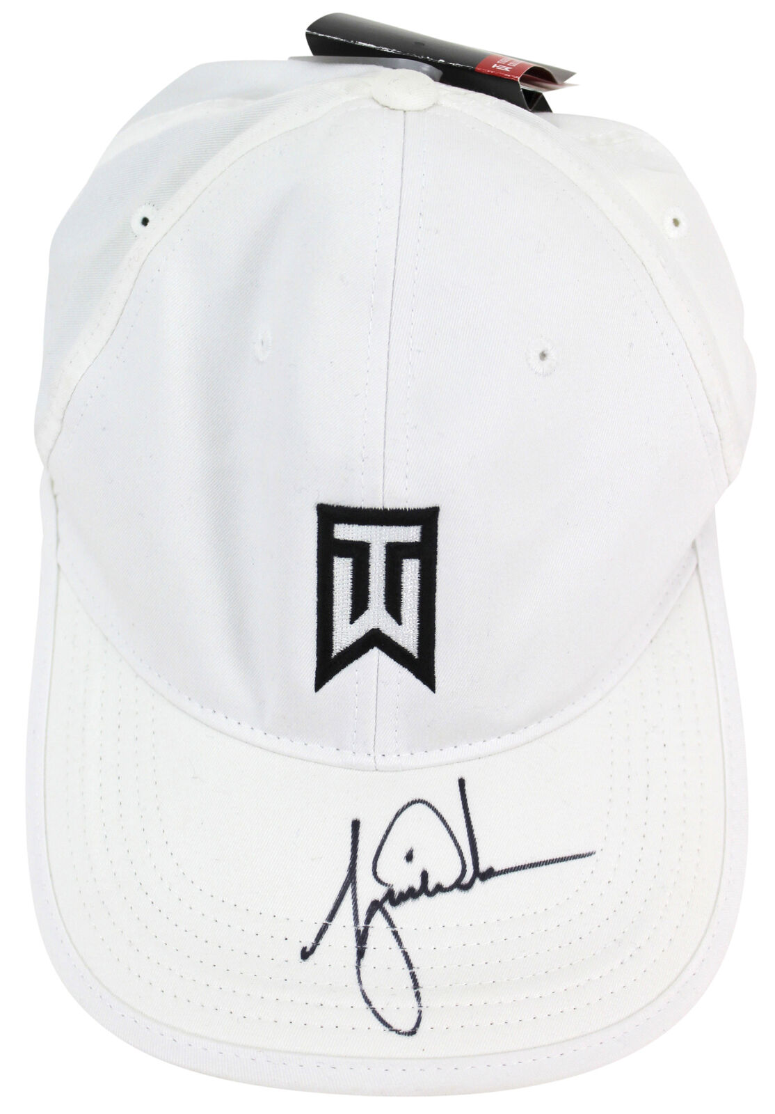 6137b774 Lot Detail - Tiger Woods Signed Personal Model Golf Hat (Beckett/BAS)