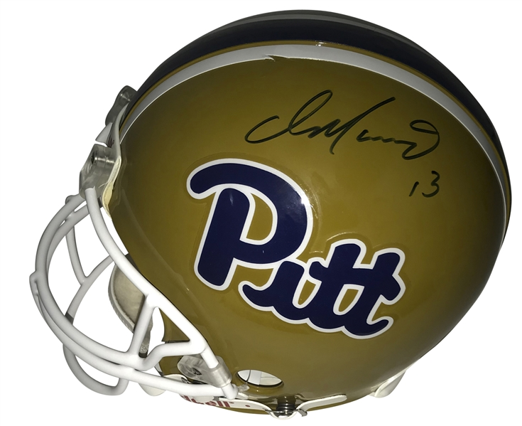 Dan Marino Signed PROLINE Pittsburgh Panthers Helmet (JSA)