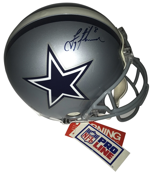 Troy Aikman Signed PROLINE Dallas Cowboys Helmet (JSA)