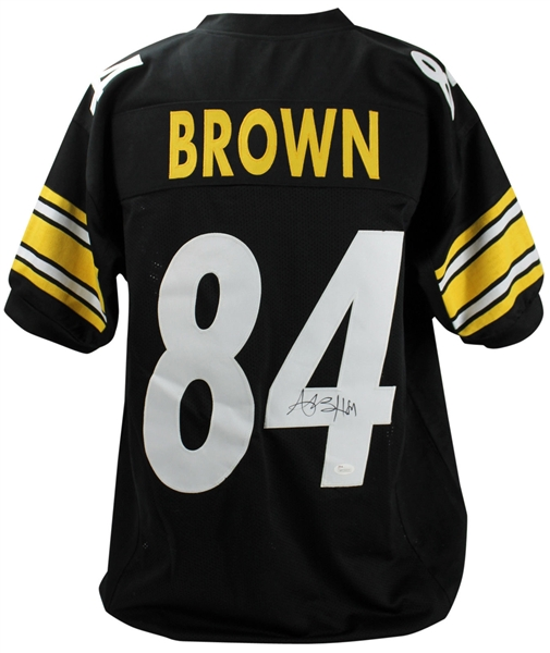 Antonio Brown Signed Steelers Jersey (JSA)