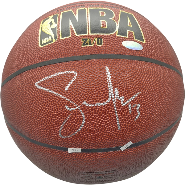 Steve Nash Signed NBA I/O Basketball (Steiner Sports)