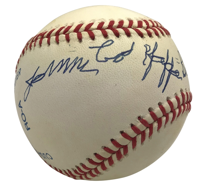 James Cool Papa Bell Signed OAL Baseball (JSA)