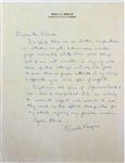 Ronald Reagan ULTRA-RARE Handwritten & Signed Letter Re: Potential Governor Candidacy c. 1965 (Beckett/BAS)
