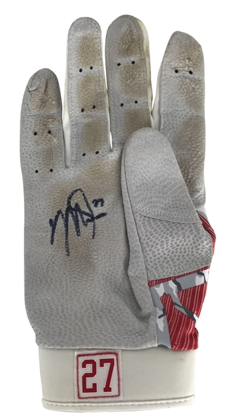 Mike Trout Signed & Game Used Batting Glove (PSA/DNA)