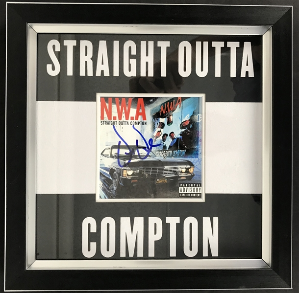 Dr. Dre Signed Straight Outta Compton CD Cover (JSA)