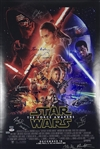 "Star Wars: The Force Awakens Cast-Signed 24"" x 36"" Movie Poster w/ Ford, Ridley, Fisher, & More! (Beckett/BAS Guaranteed)"