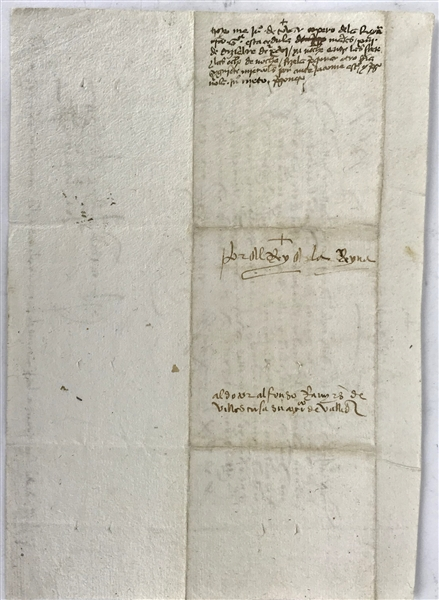 Ferdinand and Isabella Signed 6 x 8.5 Spanish 1496 Letter, One of the Finest to Surface! (Beckett/BAS Guaranteed)