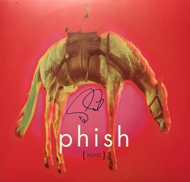 Phish: Trey Anastasio Signed Hoist Record Album (Beckett/BAS Guaranteed)