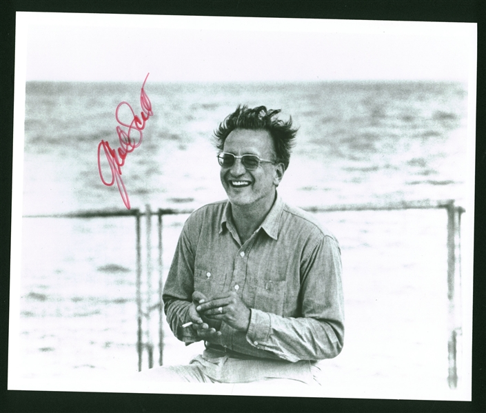 George C. Scott Signed 8 x 10 Photograph (Beckett/BAS Guaranteed)
