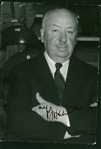"Alfred Hitchcock Rare Signed 3.5"" x 5"" Photograph (Beckett/BAS)"