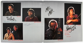 "The Grateful Dead Group Signed ""In the Dark"" Album w/ 5 Signatures! (JSA)"