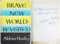 "Aldous Huxley Signed ""Brave New World Revisited"" Hardcover Book (Beckett/BAS)"