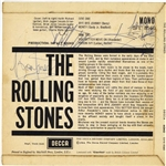 The Rolling Stones Group Signed Debut 45 Album w/ Jones, Watts, Jagger & Richards! (Beckett/BAS)