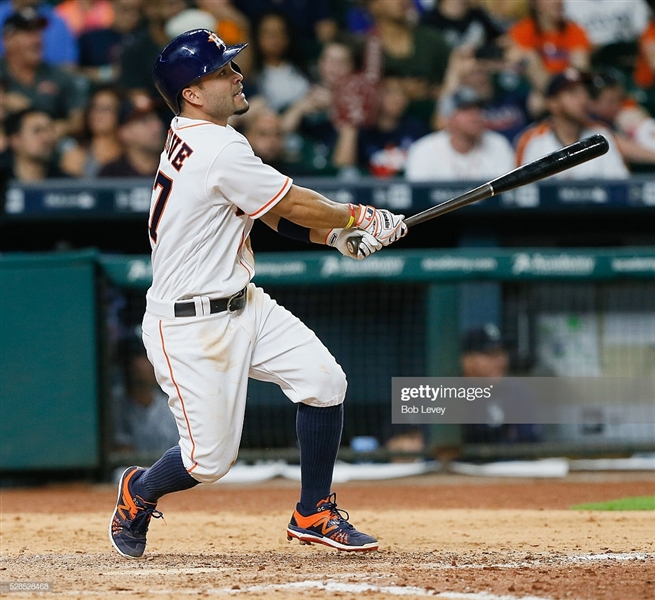 2016 Jose Altuve Game Worn PHOTO MATCHED Houston Astros Home Jersey from May 5, 2016 Game While Hitting 4-4 w/ a Home Run! (MLB)