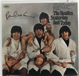 "The Beatles: Paul McCartney Signed ""Yesterday and Today"" BUTCHER COVER Album! (BAS/Beckett)"