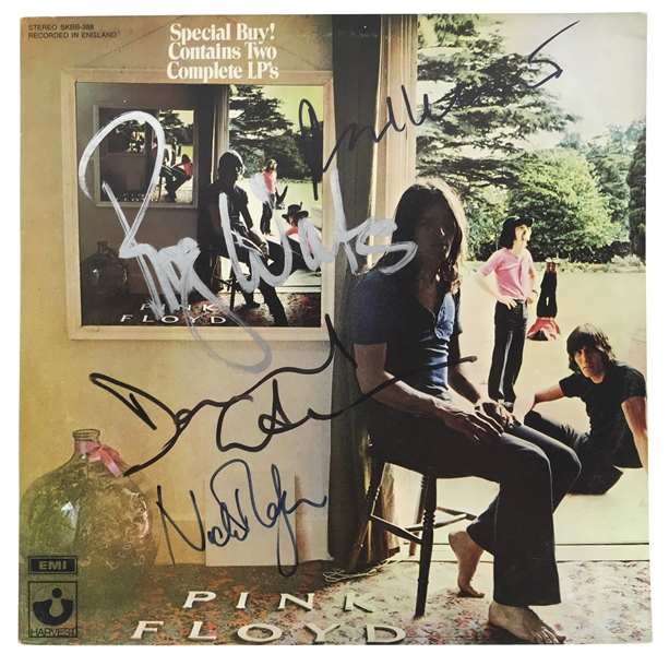 Pink Floyd Rare Near-Mint Group Signed Album - Ummagumma w/ All Four Members! (Beckett/BAS, REAL/Epperson & Floyd Authentic LOAs)