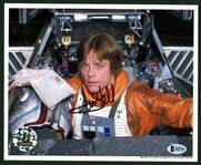 "Star Wars: Mark Hamill Signed 8"" x 10"" Color Photograph (Beckett/BAS)"