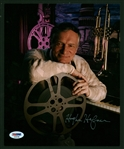 "Playboy: Hugh Hefner Signed 8"" x 10"" Color Photograph (PSA/DNA)"