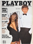 President Donald Trump Desirable Signed March 1990 Playboy Magazine (PSA/DNA)