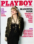 September 1985 Playboy Magazine (Unsigned) Featuring Madonna