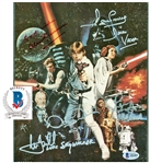 "Star Wars: Cast Signed 8"" x 10"" Color Photograph w/ Guinness, Hamill & Others! (Beckett/BAS)"