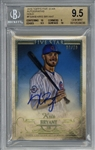 Kris Bryant Signed 2016 Topps Five Star Autographs Gold Baseball Card - BGS 9.5 w/ Gem Mint 10 Auto!