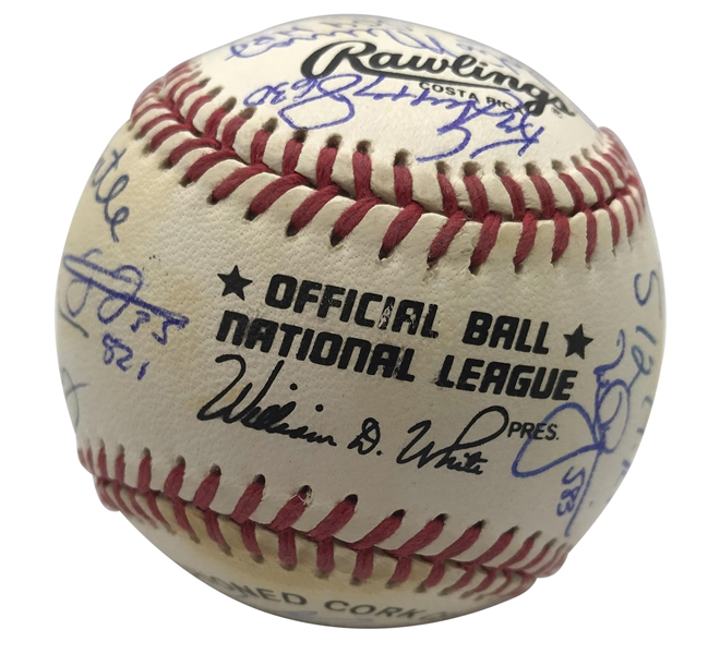 500 Home Run Club Multi-Signed ONL Baseball w/ Incredible 20 Signatures! (Beckett/BAS)