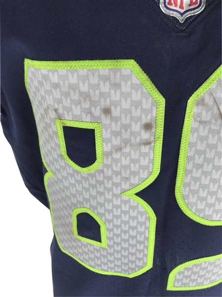 Doug Baldwin Game Worn 11/20/2017 Seattle Seahawks Jersey (PSA/DNA & NFL)