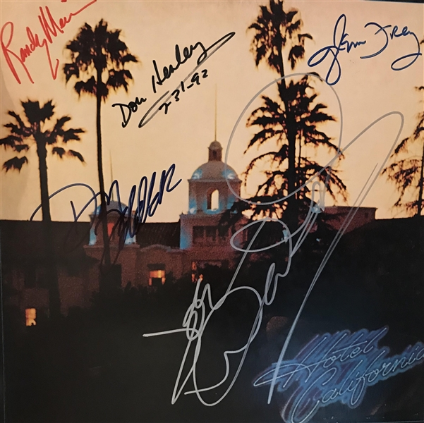 Eagles Superbly Signed Hotel California Album w/ All Five Members! (REAL/Epperson)