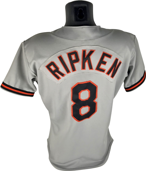 Cal Ripken Jr. Game Worn/Used & Vintage Signed 1989 Baltimore Orioles Jersey (Beckett/BAS & MEARS Guaranteed)