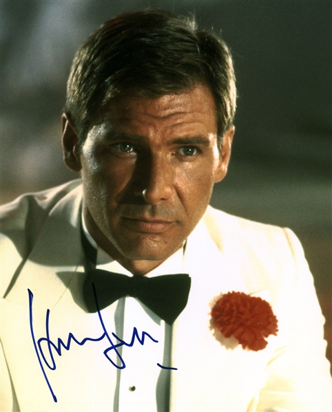 Harrison Ford Near-Mint Signed 8 x 10 Color Photograph (Beckett/BAS)
