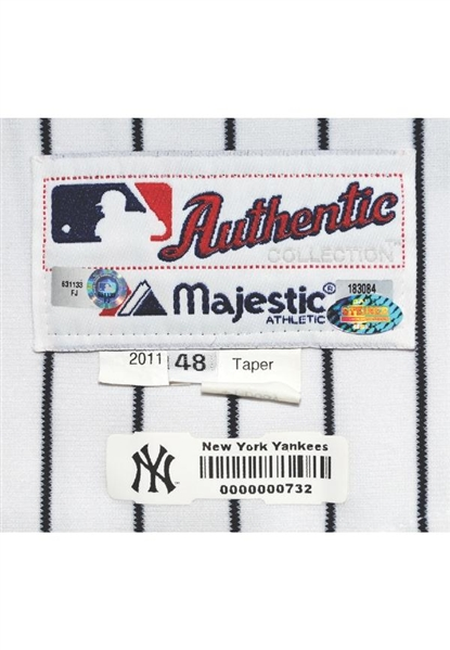 Alex Rodriguez Incredible 9/4/2011 Game Used NY Yankees Jersey - Worn for 628th Career HR! (MLB, Grey Flannel, Steiner & Photomatch)