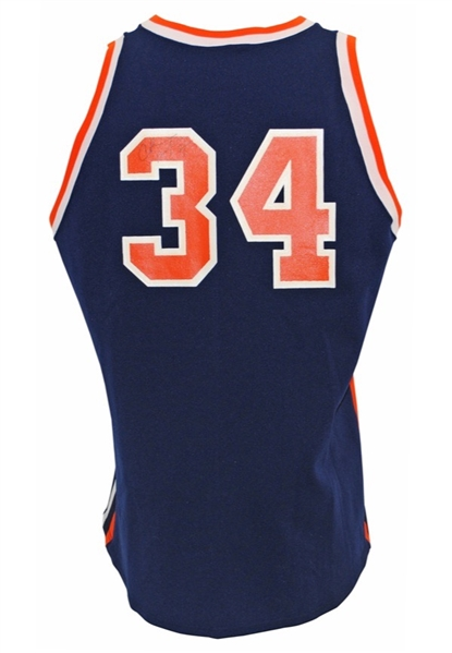 Charles Barkley c. Early 1980s Game Worn & Signed Auburn University Jersey (Grey Flannel)
