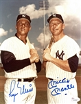 "M&M Boys: Near-Mint Mickey Mantle & Roger Maris Signed 8"" x 10"" Color Photo (JSA)"