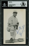 "Jimmie Foxx Signed 3.5"" x 5.5"" Postcard Photograph (Beckett/BAS Graded GEM MINT 10 & JSA)"