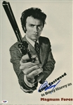 "Clint Eastwood Signed 11"" x 17"" Mock ""Magnum Force"" Poster (PSA/DNA)"