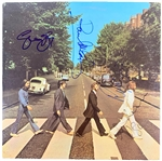 "The Beatles Exceptionally Rare Group Signed ""Abbey Road"" U.S. Record Album Cover - Only Non-Personalized Signed Copy Known to Exist! (REAL/Epperson, Cox & Caiazzo)"