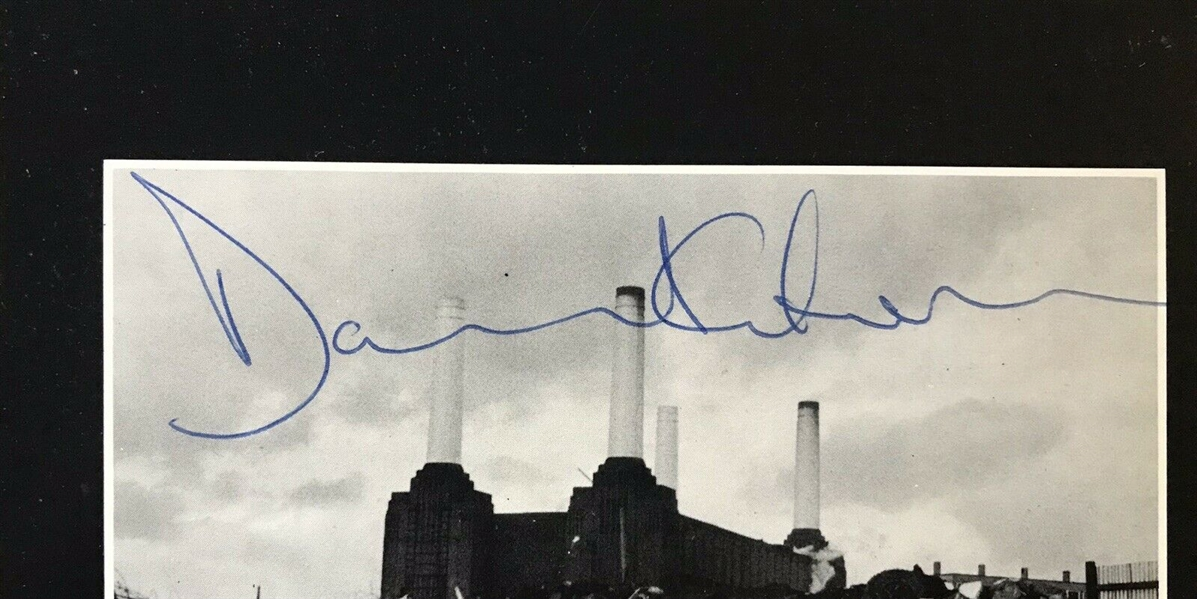Pink Floyd Group Signed Animals Album - Signed on Gatefold by All 4! (Epperson/REAL & Floyd Authentics)