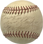 Roberto Clemente Unique Vintage Single Signed & Inscribed Little League Baseball (JSA)
