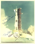 "Apollo 11 Rare Crew Signed 8"" x 10"" Photograph with Armstrong, Aldrin & Collins (Beckett/BAS)"