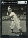 "Roy Campanella Signed 7"" x 9"" Photograph Inscribed to Teammate Preacher Roe (BAS/Beckett Encapsulated)"