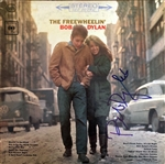 "Bob Dylan RARE In-Person Signed ""The Freewheelin"" Album with Superb Autograph (Beckett/BAS & Mike Wehrmann LOAs)"